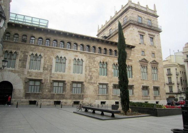 10. Palacio de la Generalidad Valenciana