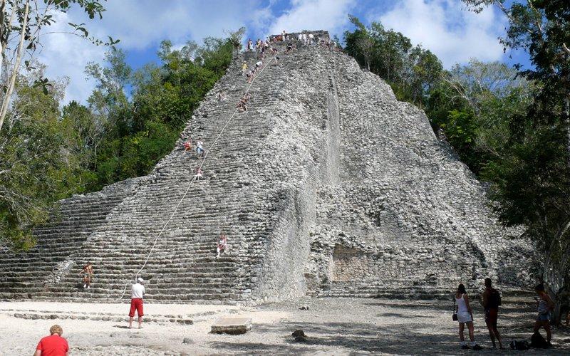 10. Ruinas Mayas de Cobá