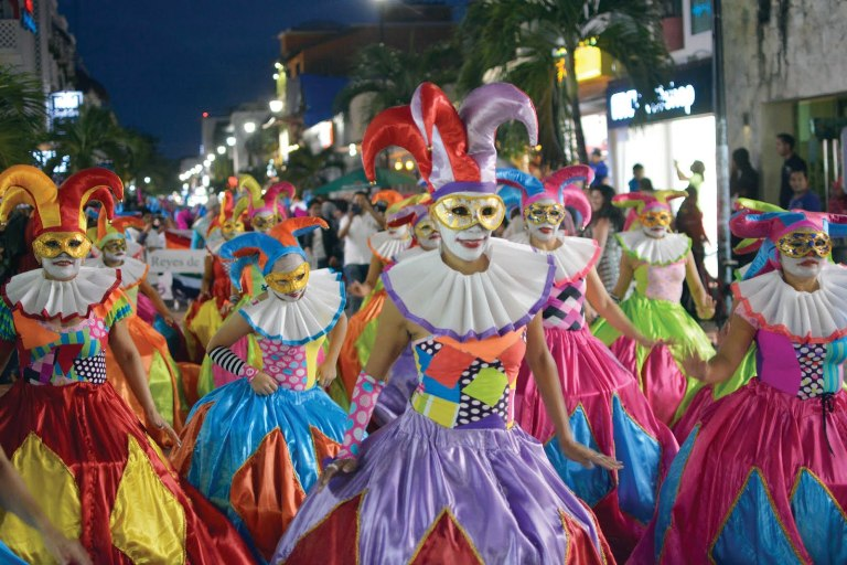 15. Carnaval de Playa del Carmen
