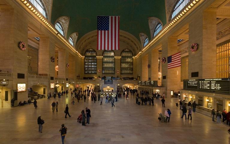 9. Visitar la Estación Central