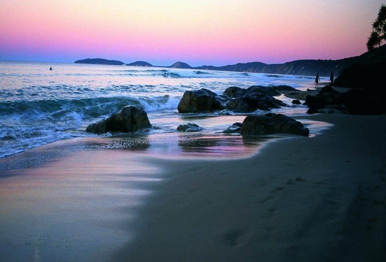 18. Rainbow Beach
