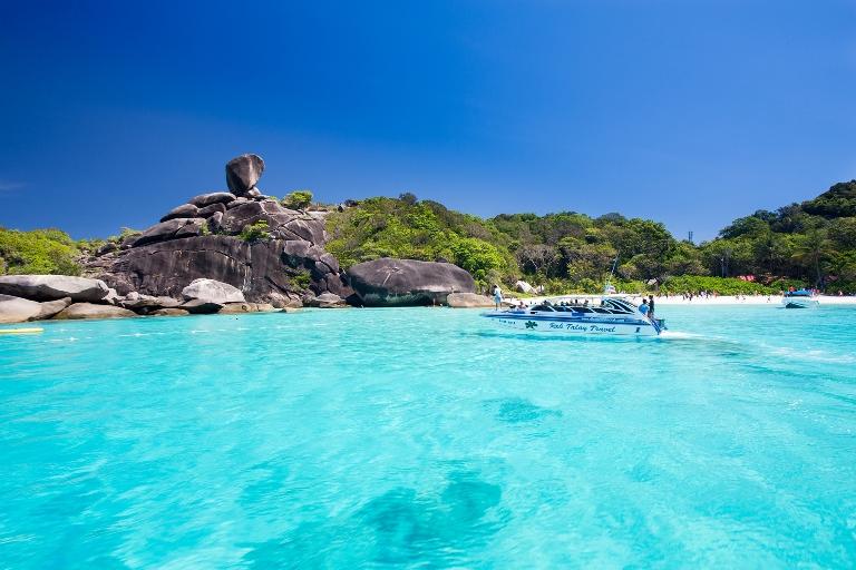 7. El paraíso intacto de Similan, en Tailandia