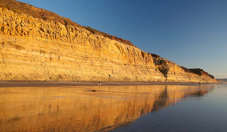 Torrey Pines Sandstone Cliffs