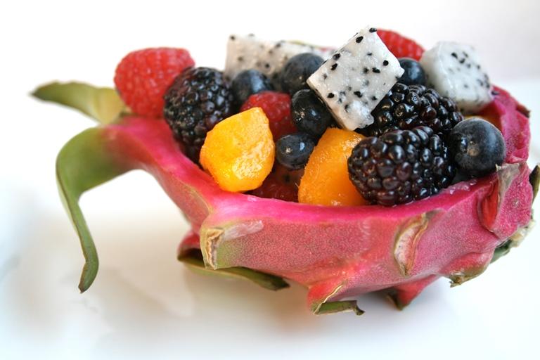 11. Ensalada de frutas tropicales
