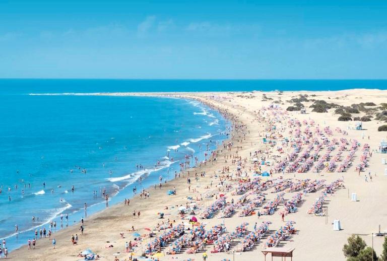 13. Playa del Inglés, Gran Canaria