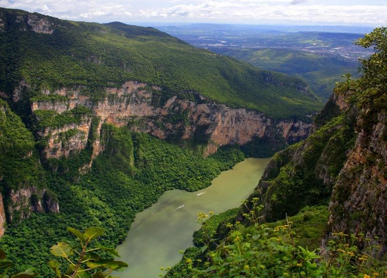 15. Cañón del Sumidero, Chiapas