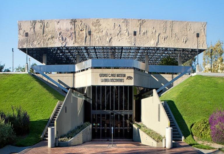 34. Museo Page en La Brea Tar Pits