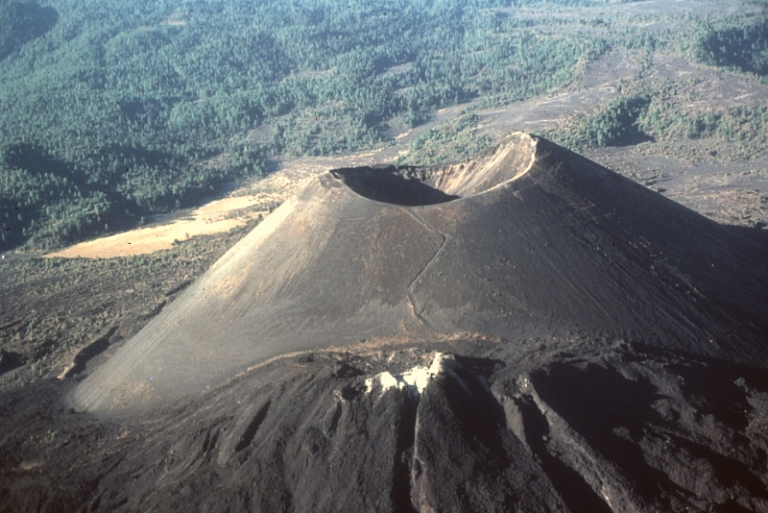 4. Volcán Paricutín, Michoacán