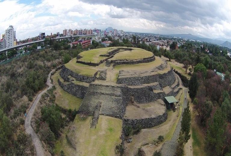 47. Zona Arqueológica de Cuicuilco