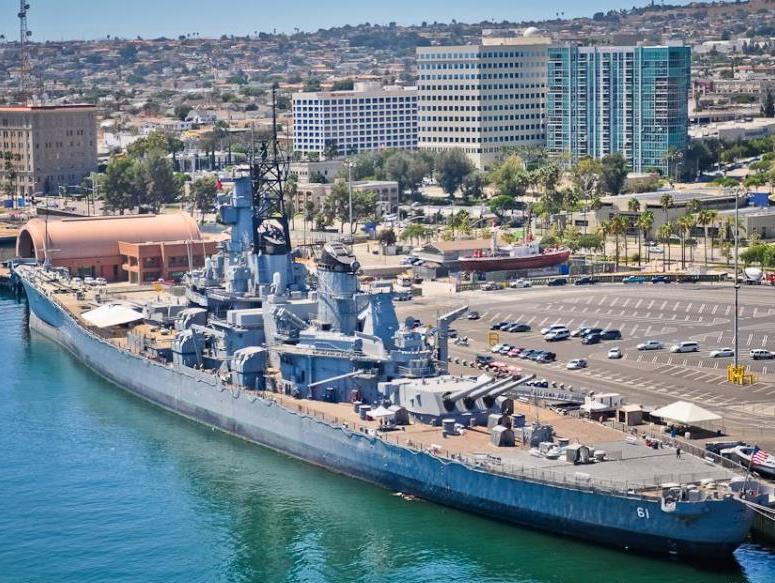 48. Battleship Iowa