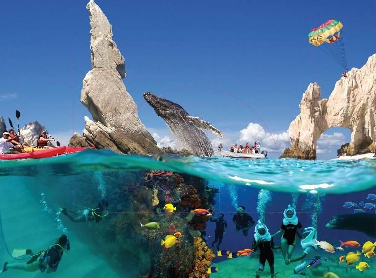 6. Tour de buceo y snorkeling en yates de vela