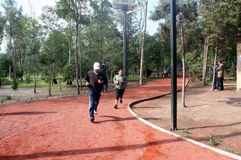 85) Correr en Chapultepec
