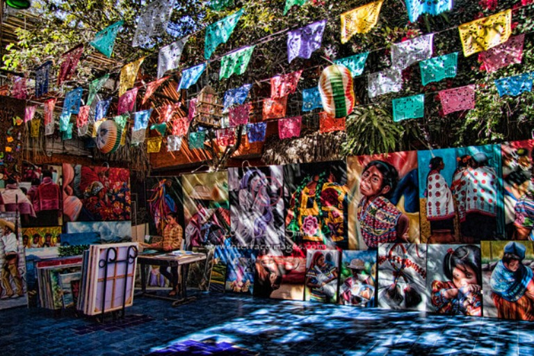 Art District of San Jose del Cabo in Baja California Sur Mexico