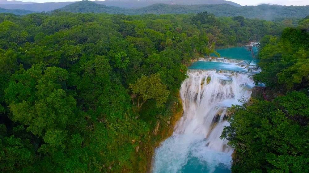 huasteca cascadas
