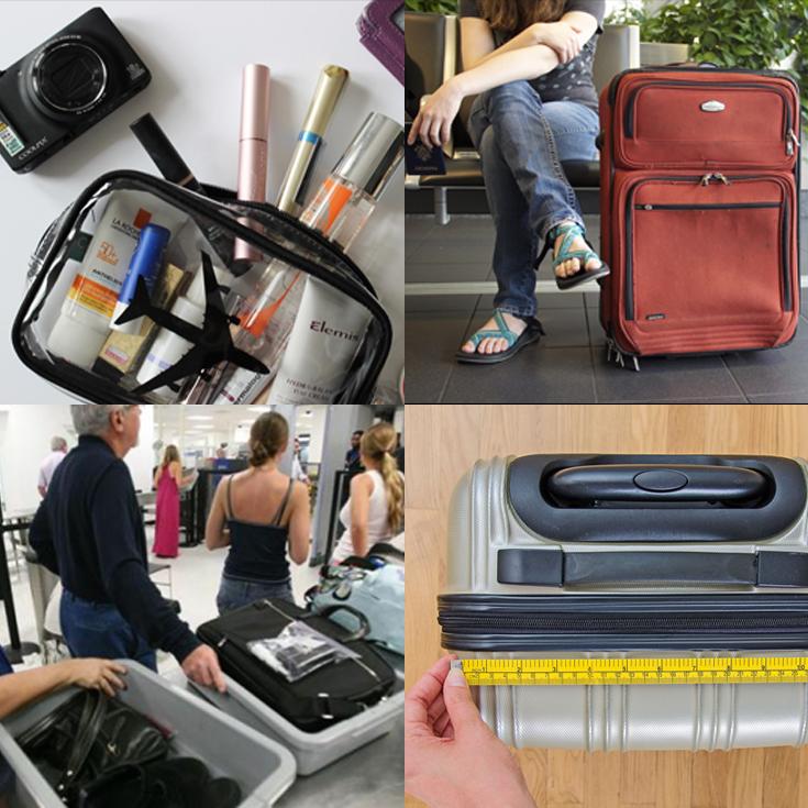 Lo que se puede y no se puede llevar en el equipaje de mano