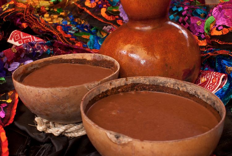 Pozol, uno de los grandes representantes de la comida típica de Chiapas.