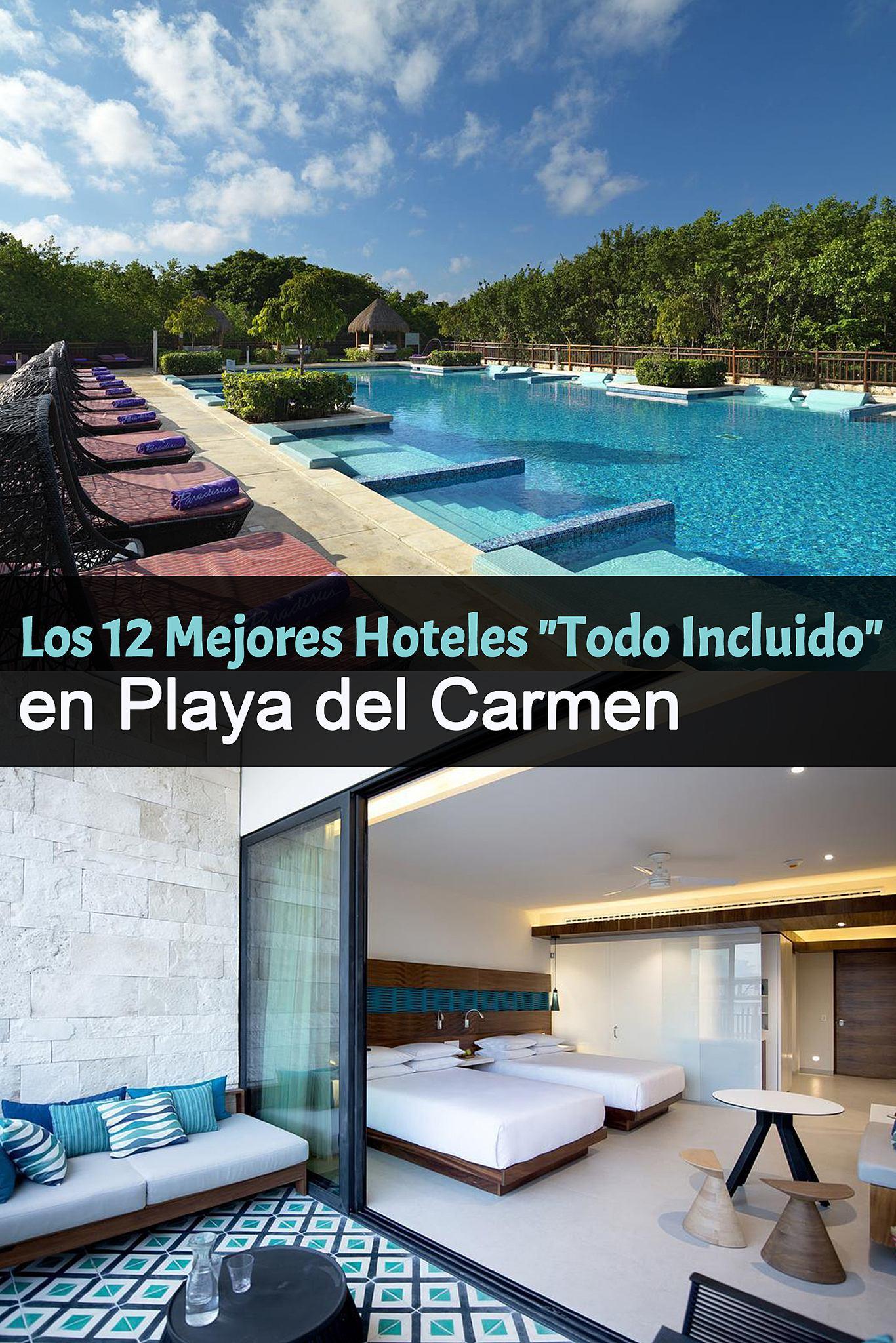 los 12 mejores hoteles todo incluido en playa del carmen. Black Bedroom Furniture Sets. Home Design Ideas
