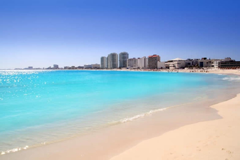 Playa Langosta en Cancún.