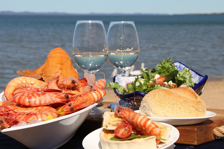 Filete imperial de camarón, parte de la comida típica de Baja California Sur.