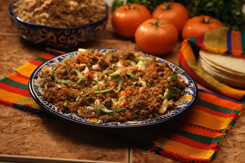 La machaca de res es de lo mejor de la comida típica de Baja California Sur.